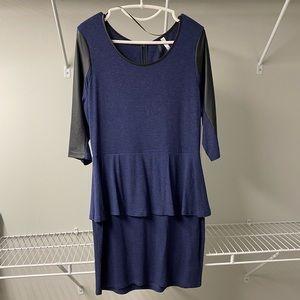 Kenzie peplum dress